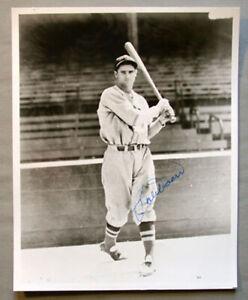 Original MLB Bobby Doerr Boston Red Sox DHOF Signed Baseball Photo # 2
