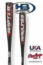 2018 Rawlings Raptor (-10) USA Youth Baseball Bat: US8R10