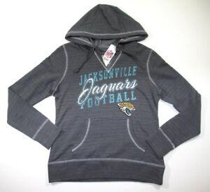 a196dead NFL Jacksonville Jaguars Women's Charcoal Team Pride II Pullover ...