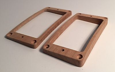 USA Fits Gibson Les Paul Guilford Cocobolo Humbucker Pickup Ring Set