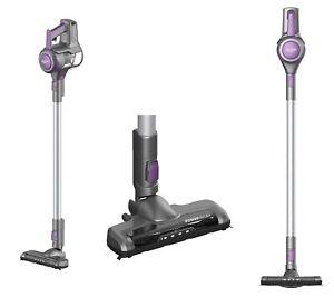 bush vhs01a17z cordless stick vacuum cleaner purple ebay. Black Bedroom Furniture Sets. Home Design Ideas