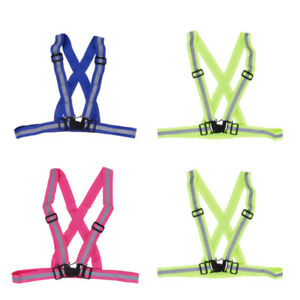 3-Color-High-Vis-Neon-Safety-Vest-Reflective-Belt-Band-for-Night-Running-Cycling