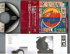OMD The Pacific Age JAPAN CD 32VD-1047 1A1 TO w/OBI '86 1st issue BLACK TRIANGLE