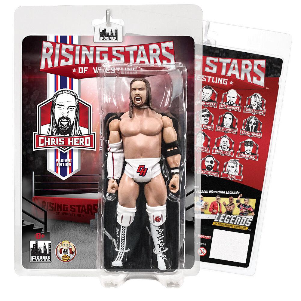 Rising Stars of Wrestling Action Figures Series  Chris Hero [Variant Edition]