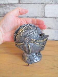 Piggy-Bank-Knight-Helmet-13-CM-Money-Medieval