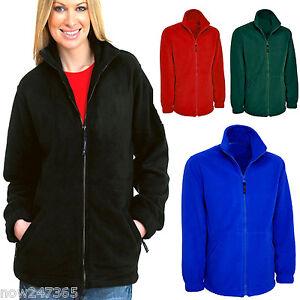 Ladies Loose Fit Fleece Jacket Size 10 to 28 Plus NEW   eBay