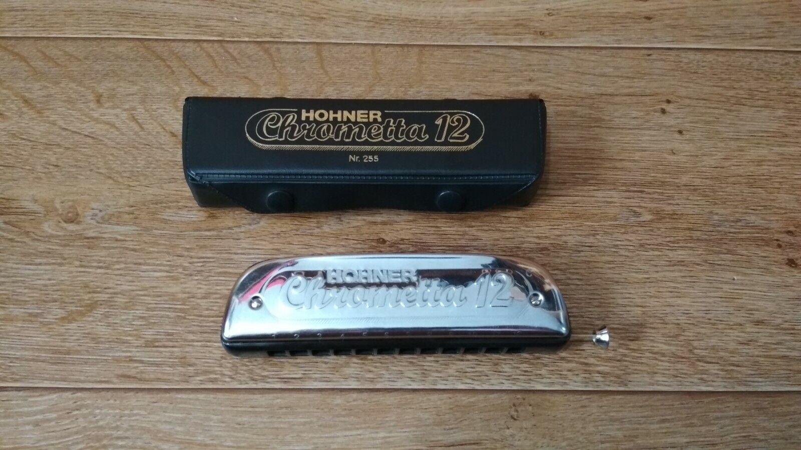 Harmonica HOHNER Chrametta 12 Nr. 255