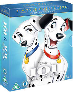 101-Dalmatas-1-y-2-juego-de-Blu-Ray-1961-Disney-pelicula-de-animacion-2-disc-Combo-Pack