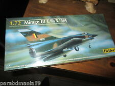 Vente maquette Heller-Mirage III E/R/5/BA-Neuve-1/72-fabrication Francaise