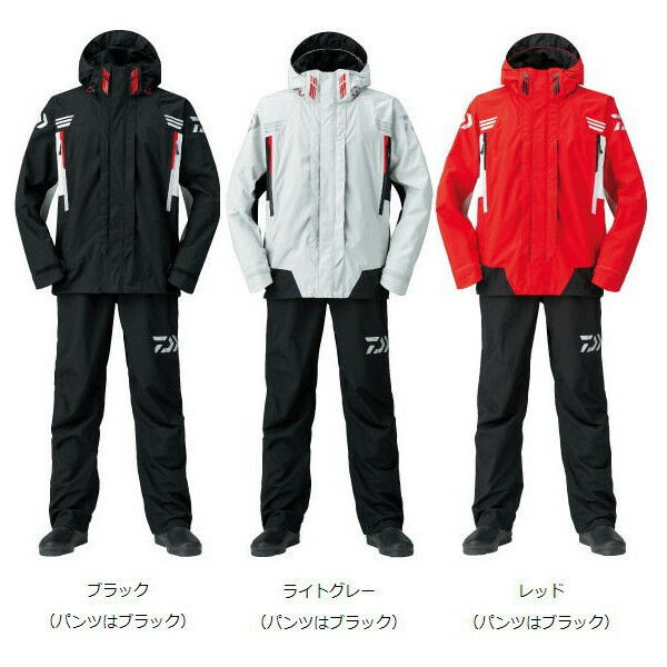 DAIWA Rain Max Hyper Combination SET Rain Suit SET Combination DR-3108 ROT Fishing Japan NEW d47057