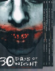 30-Days-of-Night-Comic-Volumes-1-through-5-by-Niles-amp-Templesmith-IDW-Comics