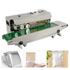 Continuous Auto Sealing Machine Band Sealer Plastic Bag Film Automatic Adjust