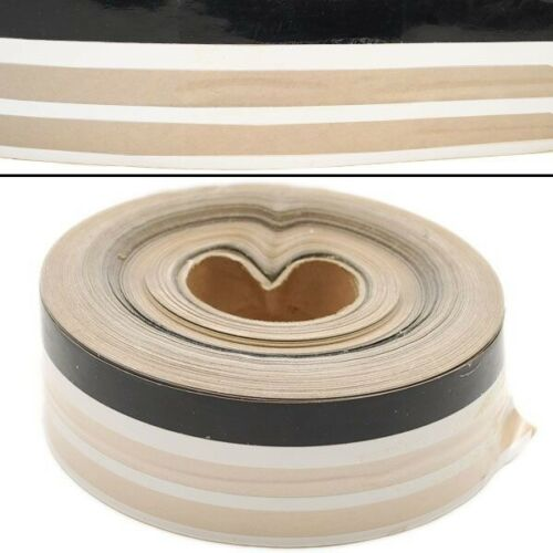 Clear Boat Pinstrip Custom 2 5//8 Inch Black White