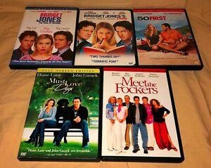 Lot-0f-5-Romantic-Comedy-DVD-Movies-Pre-owned