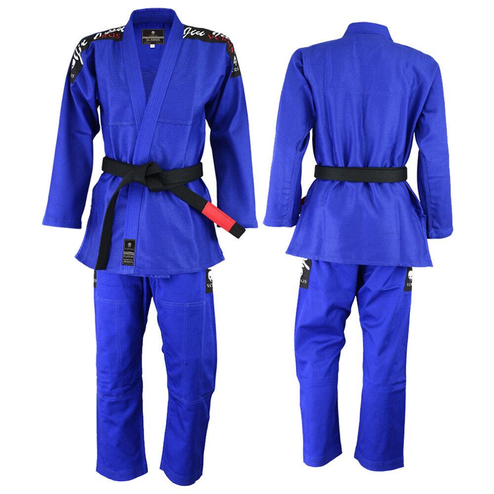 VERUS Gladius BJJ Gi bluee A1 Kimono Jiu Jitsu MMA Grappling Uniform Jiu Jitsu