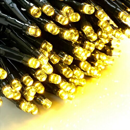 23M Solar Power LED String Fairy Light Strip Lamp Barbecue Xmas Party Waterproof