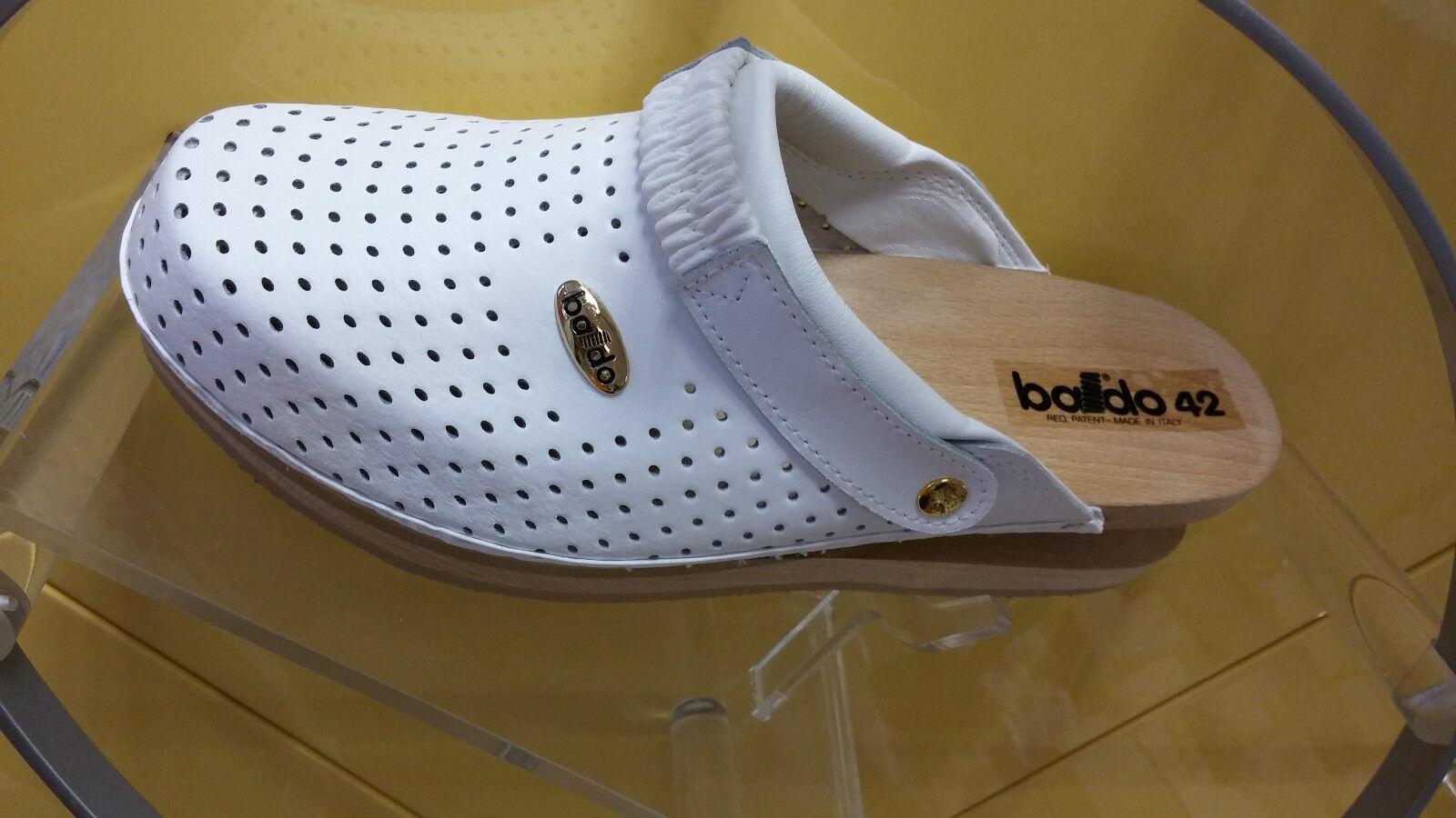 BALDO 5/13 zoccolo Bianco con omologazione EN ISO 20347-2007 OB-E-SRA