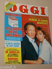 OGGI=1986/22=MIKE BONGIORNO=SANDRA KIM=MARIA BELLONCI=ELIO DE ANGELIS=JOHN MONEY
