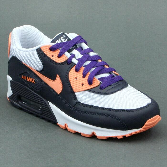 Nike Air Max 90 Schwarz Orange Mod. 325213-008