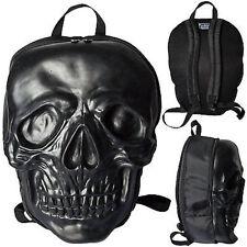 Kreepsville 666 Skull Black Punk Rock Death Skull Skeleton Coffin Backpack