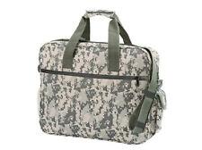 Camouflage Carry on BookBag Portfolio Laptop Bag Case, Tablet Messenger Bag Gray