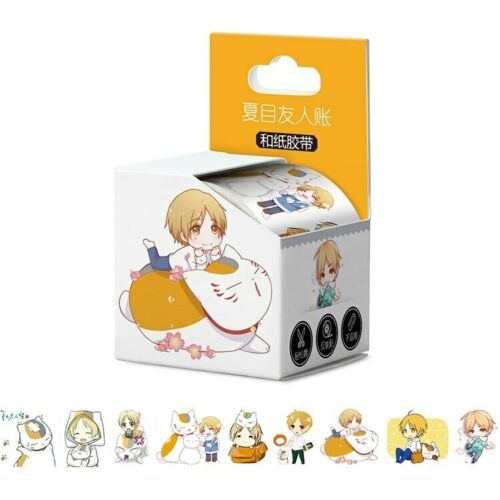Anime OnePiece//Slime//Naruto /& More Cosplay DIY Paper Maksing Washi Tape Sticker