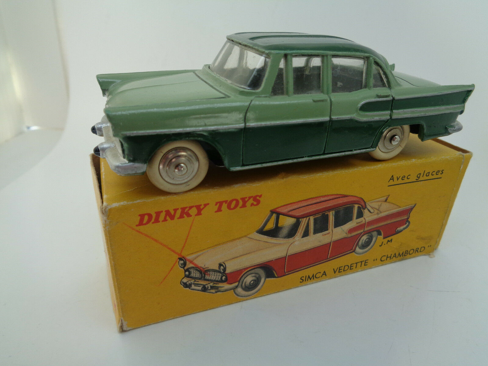 French Dinky 24K Simca Vedette Chambord original vintage diecast very near mint