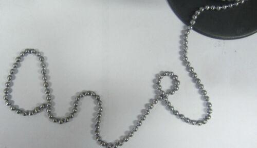 Catenella a perline  ottone cromato 3,6 mm al taglio MaggiGroup New