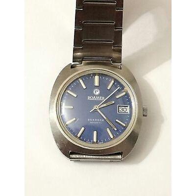 Vintage ROAMER Searock 522-2120 327 - Good Condition - Swiss Made Watch