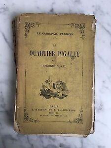 El Carnaval Parisino El Cuarto Pigalle Georges Duval C.Marpon Y E.Flammarion