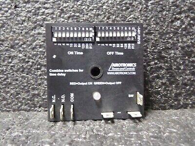 AIROTRONICS TGMPL10100A1H Encapsulated Timer Rlay,10A,Relay,120VAC