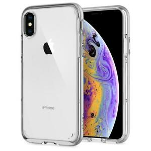 sports shoes 903fa 0c0a7 Details about Spigen® [Neo Hybrid Crystal] Bumper Shockproof Case For  iPhone Xs / Xs Max