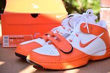 DS 2008 Nike Zoom Kobe Trainer size 13 WHITE ORANGE prelude Iv i Iii Mvp VII 8 9