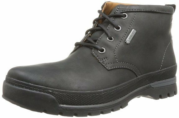 Clarks  Uomo  NARLY HILL GTX  BLACK WLINED LEA ACTIVE AIR  UK 10.5,11,12 G