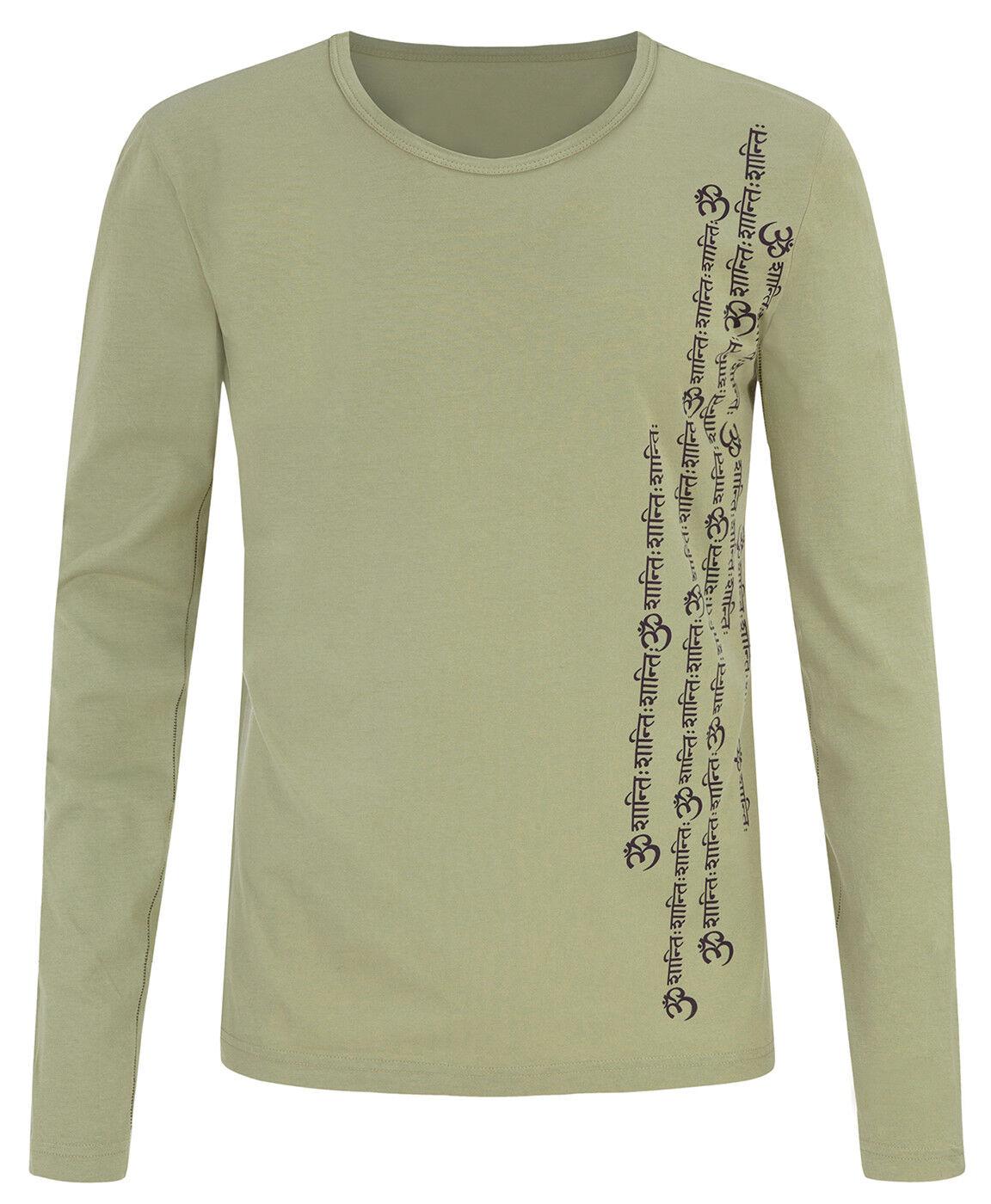 Yoga-shirt  orest  - Men - Eucalyptus Grün von von von Yogistar d04ee3