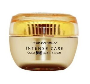 Tonymoly-Intense-Care-Gold-24K-Snail-Cream-45ml-Skin-Cosmetic-Anti-Aging-NK