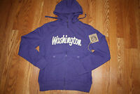 Womens Campus Drive University Of Washington Huskies Uw Full Zip Hoodie M