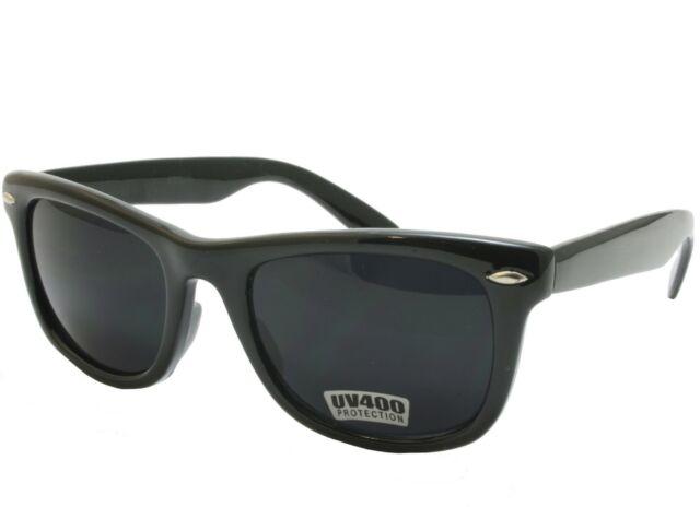 3d26967abbe5 Dark Black Lens Sunglasses Vintage Retro Aviator Men Women Classic Frame  Glasses