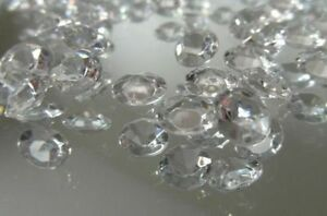 Clear-Scatter-Crystals-6-5mm-Wedding-Table-Decoration-Acrylic-Confetti-Gems