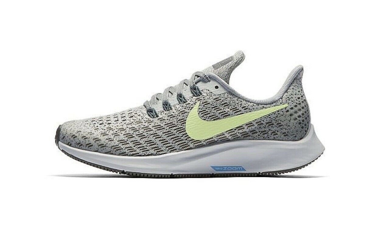 Nike AIR ZOOM PEGASUS 35 UK 5 EU 38 GS Girls   Women's Running Grey   Volt