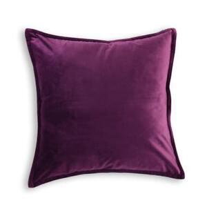 VELVET-Premium-Quality-Cushion-Cover-Square-45-x-45-cm-Purple-Christmas