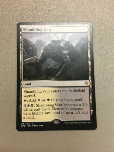 MtG x1 Shambling Vent TCG Battle for Zendikar Rare
