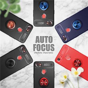 For-OPPO-A59-F7-R11s-A73-F1s-Ring-Stand-Slim-Armor-Shockproof-Rubber-Case-Cover
