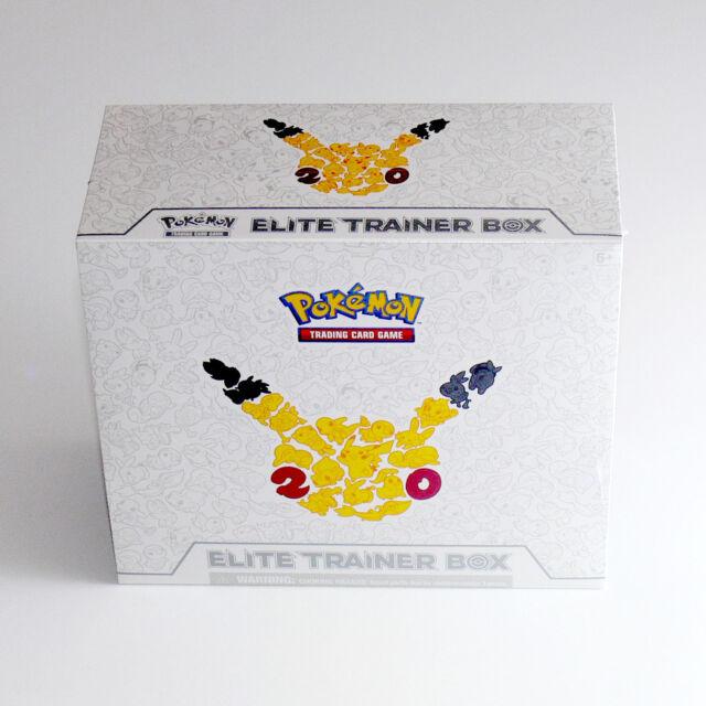 Generations Elite Trainer Box Pokemon NEW SEALED 10 Booster Packs + Pikachu Dice