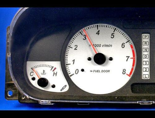 2000-2002 Isuzu Rodeo Dash Instrument Cluster White Face Gauges