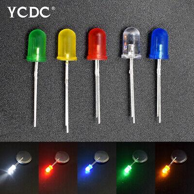 200 Pcs 5mm Ultra Bright Round Head LED Diode Kit DIY Led Yellow