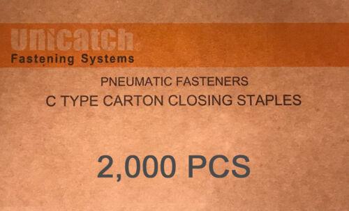 "C58  Carton Closing Staple  1-1//4/"" Crown x 5//8/"" Leg  20,000 10 @ 2,000"