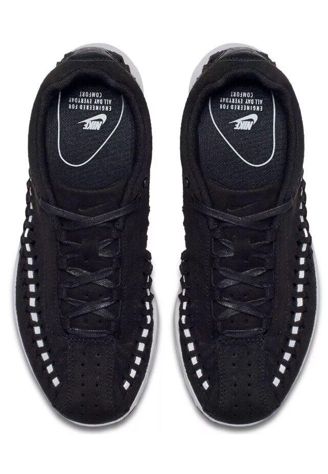 Nike Mayfloy Woven nero 3M argento grigio  Suede Wouomo Dimensione 7.5   6Y   Men 65533;6 NUOVO  di moda