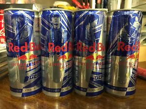 Japan RED BULL 2018 GLAY 7-11 can x4 set top-sealed FULL empty single ALL choose
