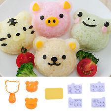 New Rice Ball Mold Bento Sushi Mold Kitchen DIY Cute Animal Shaped